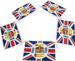 Queen's Diamond Jubilee Bunting, rectangular, 15 metre, official design.